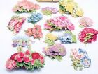 30 Stunning PASTEL Anna Griffin FAVORITE 3D FLOWERS II  ROSES GALORE