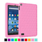 For Amazon Fire 7 7 inch 5th Gen Tablet 2015 Silicone Case Cover Kids Friendly