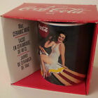 Coca-Cola  Ceramic Mug  Coke  Gibson  1996   Use as a Gift Box   NEW