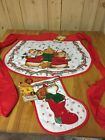 Hallmark  SHIRT Tales Christmas Apron And Hot Pad Vtg New With Tag 1980 1981