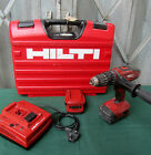 HILTI SFH 22-A Cordless Hammer Drill / Driver Body With 2 x Battery REF 4921 .