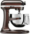 KitchenAid Stand Mixer 6-Qt Stainless Steel Bowl Professional 600 Series 6 Brown