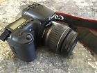 Canon EOS 20D Digital Camera with EF 58mm lens