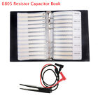 0805 0603 04021206 Smd Resistor Capacitor Combo Sample Book Assortment Kit