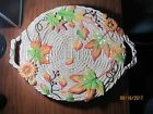 Fitz and Floyd Harvest Heritage Large Oval Thanksgiving Platter Dish w/Handles