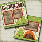 CAMPING 2 Premade Scrapbook Pages EZ Layout 2176