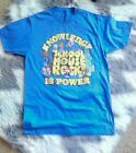 School House Rock Knowledge Is Power Mens T Shirt Size M