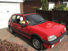 LARGER PHOTOS: Peugeot 205 GTi 1.6 Cherry Red 72K miles