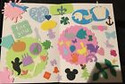 500+ Assorted die cuts punchies lot scrapbook cardstock embellishments martha EK