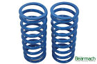 Land Rover Defender 130 Heavy Duty 45mm Lift Bearmach Blue Front Coil Springs