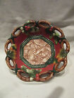 VINTAGE FITZ AND FLOYD CLASSICS CHRISTMAS LODGE SMALL 6 1/2