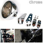 """5.75"""" Chrome LED Headlight Mount Bucket Daymaker Projector Housing for Motorycle"""