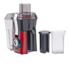 Big Mouth Pre-Cutting Fruit Vegetable Juicer Drink Safe Juice Extractor Red 800W
