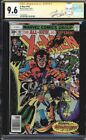 X-MEN #107 CGC 9.6 WHITE PAGES SS STAN LEE 1ST FULL APP STARJAMMERS #1227818005