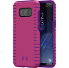 Under Armour UA Protect Grip Case Cover for Galaxy S8 Tropic Pink Purple Rave