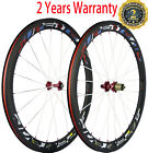 Superteam 50mm Clincher Carbon Wheels 700C Road Bicycle Carbon Racing Wheelset