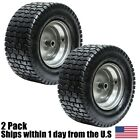 2PK 16x6.50-8 16/6.50-8 Turf Tire Riding Mower Tractor Rim Wheel Assembly