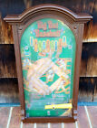 Vintage Mattel Big Bat Baseball Pinball Game -1975-Working Condition-