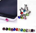 Diamond 35MM Earphone Jack Anti Dust Plug Cap Stopper Cover For Apple iphone