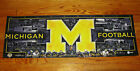 2010 UNIVERSITY OF MICHIGAN FOOTBALL POSTER NCAA COLLEGE 1 x 3 NEW wolverines