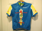 NWT Canari Otter Pops Poncho Punch Blue Cycling Jersey Kids M 8