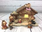 Lighted Nativity Children Characters 8 Pieces Religious Christmas Decoration