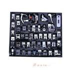 48pcs Multi-function Domestic Household Sewing Machine Presser Foot Feet USA