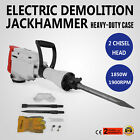 1850W Demolition Jack Hammer Double Insulated Electric Concrete Breaker Punch