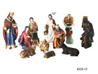 Nacimiento Nativity Set 11 Pcs SCULPTURE Complete 12 Inch Statue 6225 12