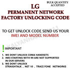 LG PERMANENT NETWORK UNLOCK CODE FOR LG KF700Q LOCKED WITH OI BRAZIL