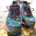 Mizuno Wave Ascend 8 Training Trail Running Shoes Womens Sz 9W Blue Pink