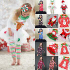 Toddler Kids Baby Girls Christmas Santa Party Dress Xmas Fancy Outfit Clothes