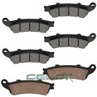 Fits HONDA VTX1800R Cast Model 1800 2002 2003 2004-2008 FRONT & REAR BRAKE PADS