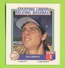 1988 Starting lineup Talking Baseball - Dale Murphy  Atlanta Braves