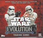 2016 Topps Star Wars EVOLUTION Collectors Trading Cards Hobby Box - 24 packs of