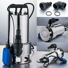 4300GPH 15HP Submersible Stainless Steel Dirty Water Pump Swimming Pools Drain