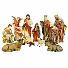 Christmas Nativity Large 90cm Set 11 Piece Outdoor and Indoor Use
