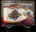 2014 Topps Update Series Baseball Retail World Series MVP Patch Card Gallery 27