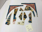 Freedom Bally Set Used Stern Pinball Playfield Plastic Part Parts #2755