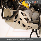 Recraft Honda XL700 V Transalp 07-12 Engine Guard Skid Plate with Sliders