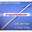 10pcs 22 Inch Wide CCFL Lamps for LCD Monitor Screen Panel W Frame 490mm7mm
