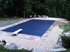 Equator Rectangle Mesh Winter Safety Swimming Pool Cover Various Color