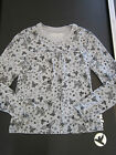 THE CHILDRENS PLACE TCP BUTTERFLIES HEARTS ROSES TOP Sz L 10 12 EUC