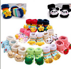 Newborn Slipper Shoes Boots Anti slip Socks Cartoon for Baby Girl Boy 0 12Months