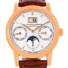 A. Lange & Sohne Saxonia Annual Calendar Rose Gold 38.5mm Watch 330.032