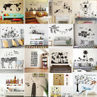 DIY Wall Stickers Mlut Types Removable Art Vinyl Quote Decal Mural Home Decor za