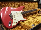 USED free shipping Fender Custom Shop 1962 Stratocaster Heavy Relic Fiesta Red