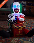 1 Ft Lil Zappy the Clown Prop Animated Shakes Eye Light Up Halloween Decoration