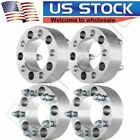 4 2 Wheel Spacers Adapters 5Lugs 5x45 For Jeep Liberty Wrangler Cherokee