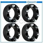 4pcs 2 50mm thick 6x55 14x15 Wheel Spacers For Chevy Silverado 1500 Suburban